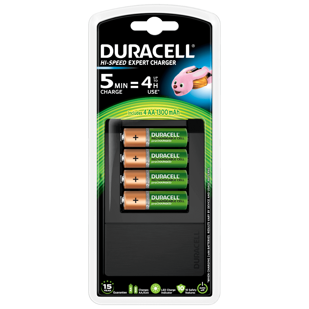 Aaamp; Duracell Aaa Charger Expert Batteries Speed Hi For CeroxdBWQ