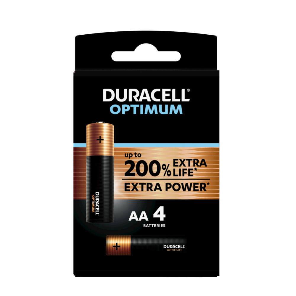 Duracell DEL Torch 500 LM-Acier inoxydable-Piles incluses